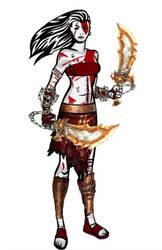 Rule 63 - Kratos by SlyGoddess