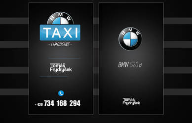 Business Card -  TAXI by DruryMatt