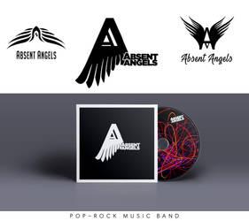 Absent Angels Logo by DruryMatt