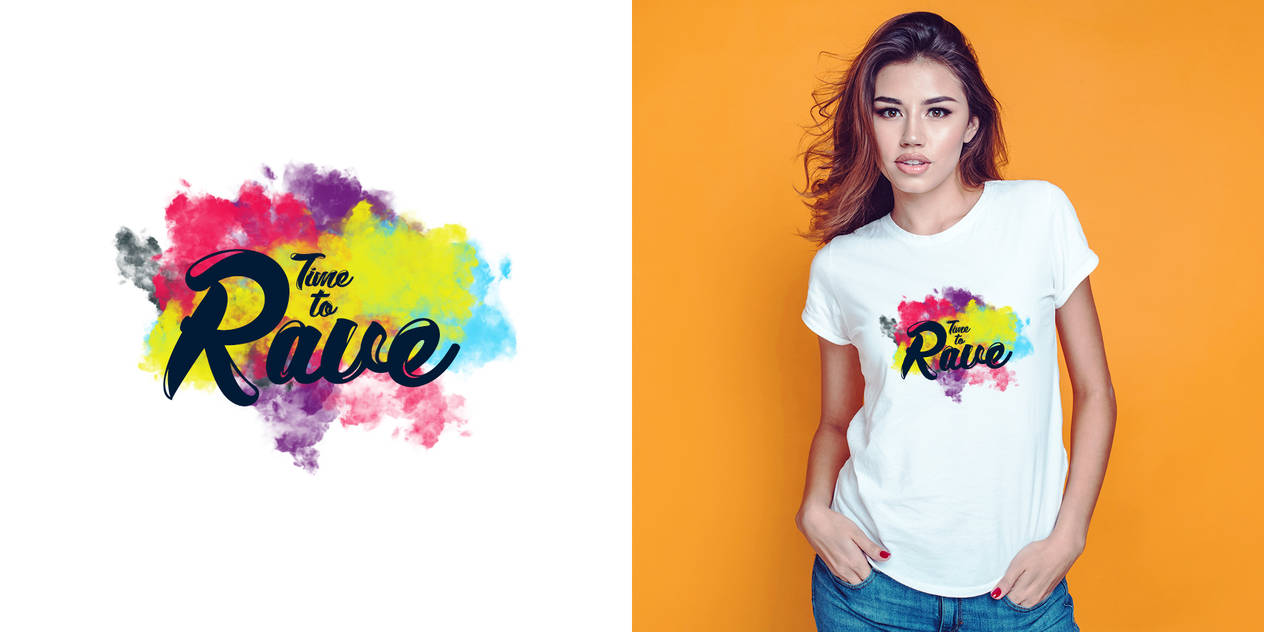 Time to Rave logo by DruryMatt