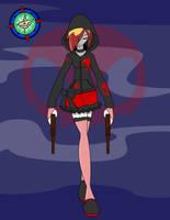 Comm - Scarlet :DMC Alt: by Dragon-FangX