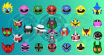 Familiar Faces - Rider:Sentai by Dragon-FangX