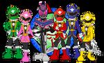 Rider and Sentai by Dragon-FangX