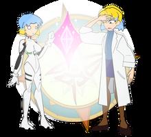 Swip Swap - Rei and Ritsuko 2 by Dragon-FangX