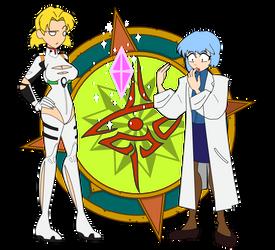 Swip Swap - Rei and Ritsuko 3 by Dragon-FangX