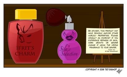 Trader Lydia - Fiendish Fragrances by Dragon-FangX