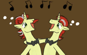 We're still the Flim Flam brothers! by ChirpyNights