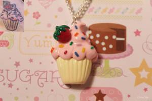 Tattoo Based Cupcake Charm by CharmStop