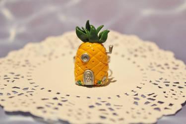 SpongeBob SquarePants Pineapple House Ring by CharmStop