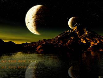 As the Sun Sets by Sonaxaton