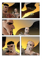 New Gods Sample Page by stefankarlsson