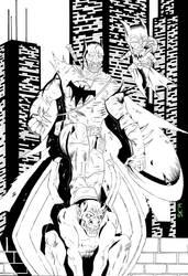 Batman of Zur-en-arrh Inks by stefankarlsson
