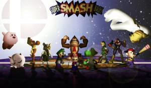 Super Smash Bros 64 by brutalikyd