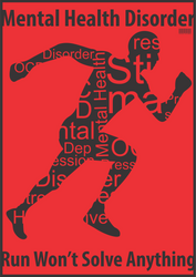 Poster Grafis Mental illness 5 by danurachman