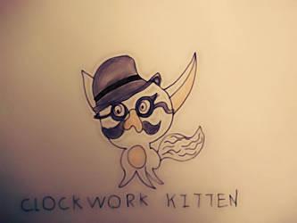 Luke-The-Spook AClockworkKitten Art Trade by Microscopics-UNTD
