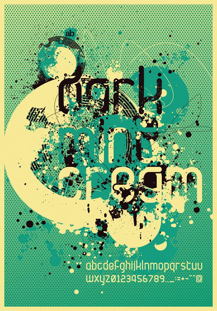 Dark.Mint.Cream_Poster by atobgraphics