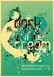 Dark.Mint.Cream_Poster by atobgraphics