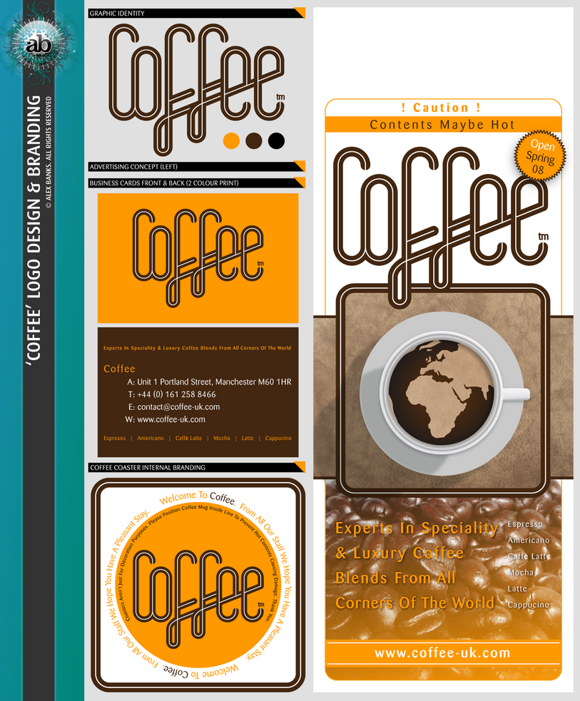 Brand and Logo Design_Coffee by atobgraphics