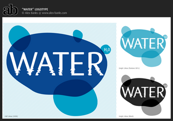 Water Logotype by atobgraphics