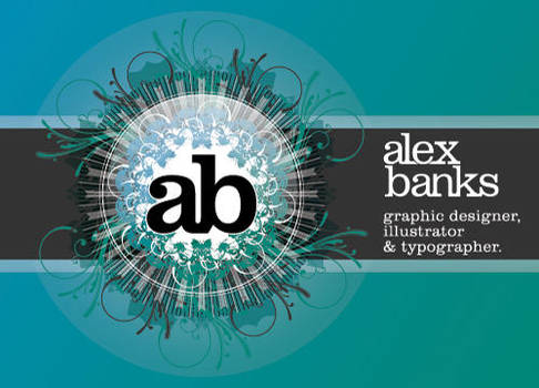 AB Alex Banks ID by atobgraphics