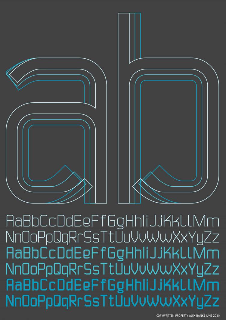 AB'10 Portfolio Typography by atobgraphics