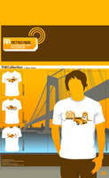 Retro Ride T-Shirt Design by atobgraphics