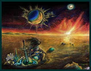 Anthroventures - In Its Beginning (Bordered) by AzureParagon