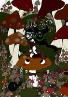Mushroom forest by chon-chan