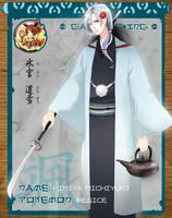 Michiyuki the Regice by saraCHU