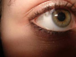 hazel eyes. by ohwhataradsheep