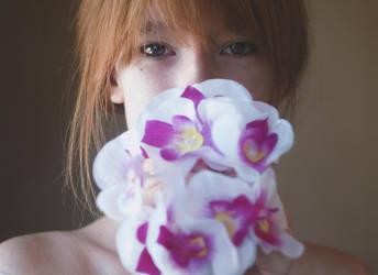 Flower girl II by Raining-Insanity