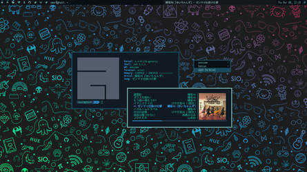 First Attempt on AwesomeWM by fikriomar16