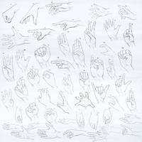 Practice Session: Hands by Lyraina