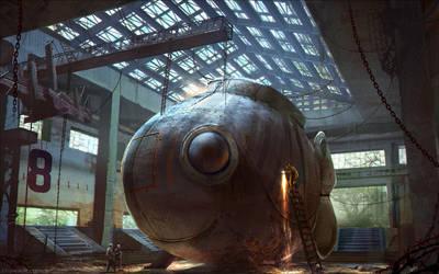 Submarine by Lyraina