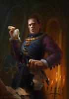 Emhyr var Emreis - Witcher Fanart by Lyraina