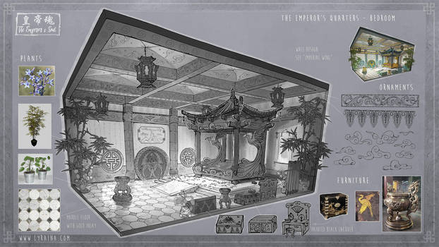 The Emperor's Soul - The Emperor's Bedchamber by Lyraina