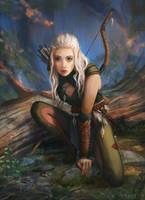 The Dark Eye: Cendhre Nachtwind by Lyraina