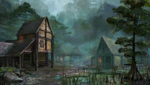 Skyblivion - Blackwood by Lyraina