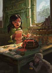 Potion Class by Lyraina