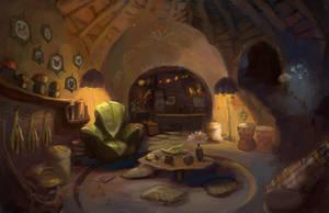 Subterranean Interior by Lyraina