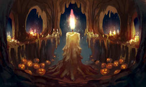 Candle Season by Lyraina