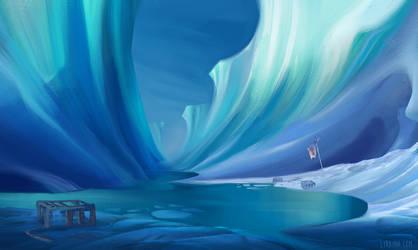 Glacier by Lyraina