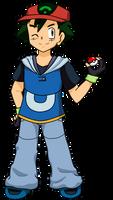 AKFG Collab- Hoenn Outfit by AshAngel899