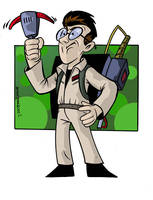 Egon Spengler Pro Ghostbuster by anthonymarques