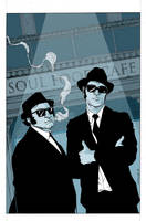 Blues Brothers in Color by anthonymarques