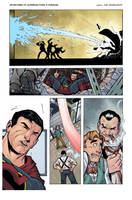 Superman Classic Page 2 Colored by anthonymarques