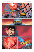 Superman Classic Page 5 Colored by anthonymarques