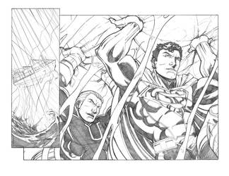 Superman Tryout by anthonymarques