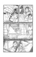 Solar Man of The Atom #11 page 1 Pencils by anthonymarques