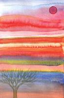 sunrise or sunset layers by karincharlotte